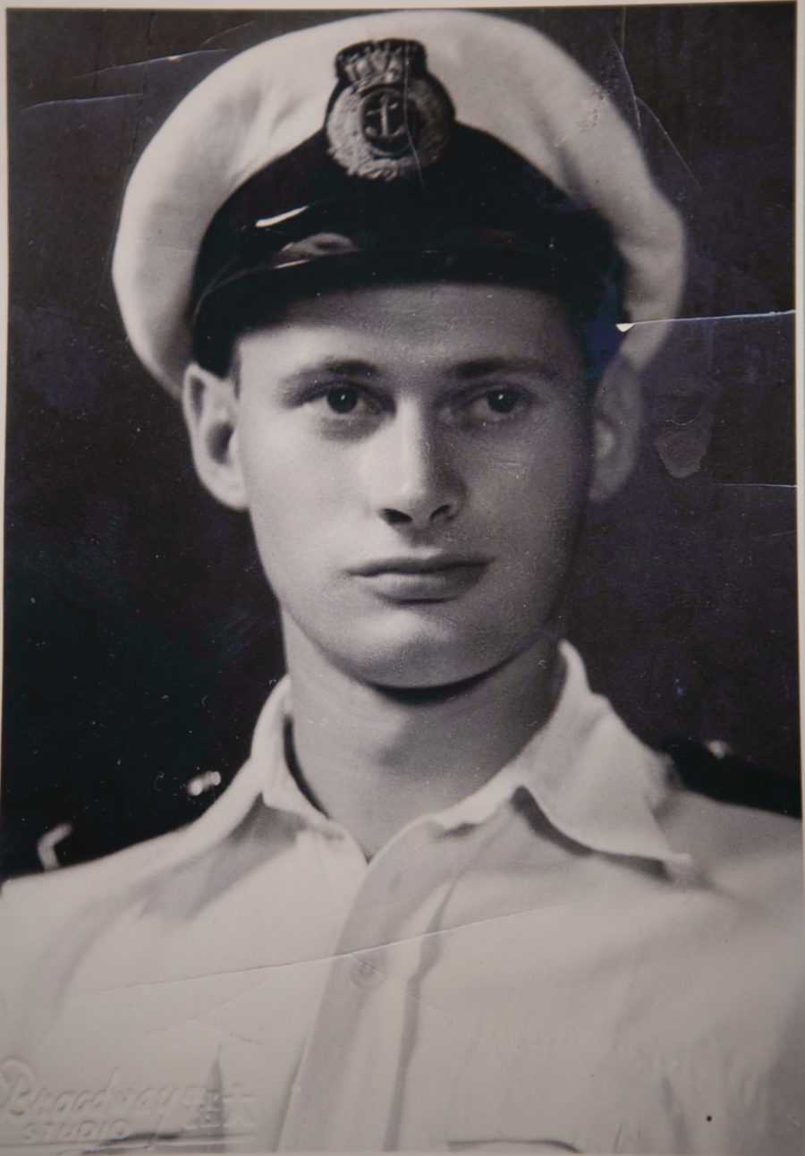 A dashing young Albert Owings