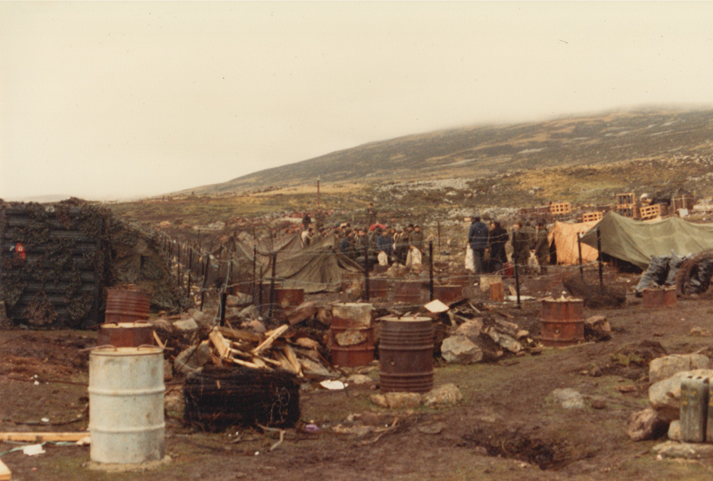 Base camp Falklands