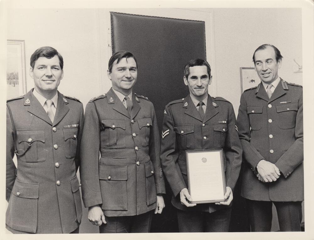 Divisional Commanders Commendation
