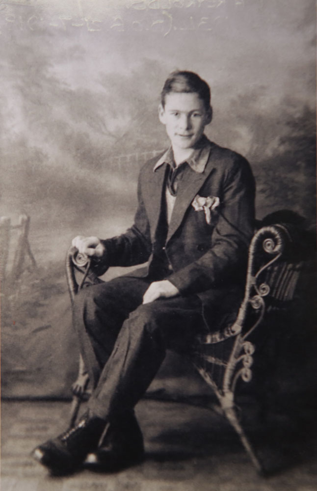 George Reynolds at 16