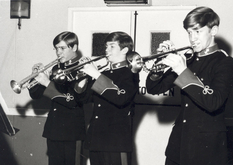 Junior Musicians' Troop – Trumpet Trio