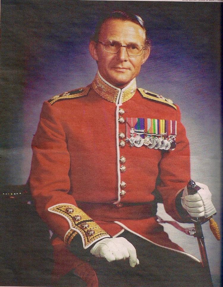 Lt Col Trevor Sharpe